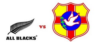 All Blacks vs Tonga