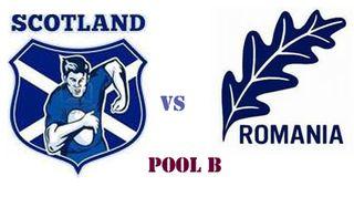 Scotland vs Romania RWC 2011